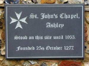 Ashley Plaque