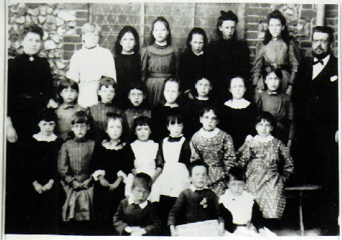 The class of 1900
