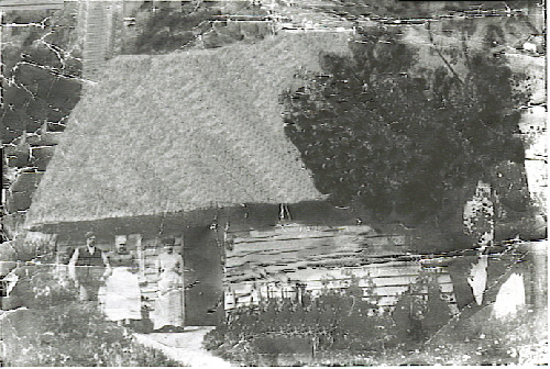 Old cottage in Upend in 1896