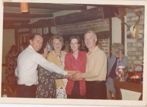 Queens Head Land Lady Shirley Storton's Birthday 1972